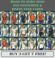 Panini Adrenalyn XL Road to UEFA Euro 2020 Fan Favourites & Rising Star cards