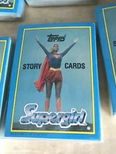 1984 Topps SUPERGIRL Story Card/sticker set (44 sticker cards) COMPLETE NM/MT