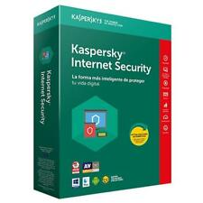 Kaspersky 2018 Internet Security renovacion 3 licencias