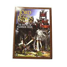 LOTR The Battle of Pelennor Fields Rulebook Sourcebook Strategy Book smoke smell