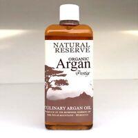 Culinary Argan Oil 110ml / 3.72 fl oz - Organic Toasted for Eating & Health