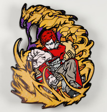 Anime Gift Naruto Uzumaki Naruto Lacquer Gaara pin metal badge Cosplay Limit