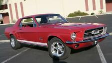 1967 Ford Mustang 289 V8 C CODE! P/S OPTION! NICE PAINT & INTERIOR!