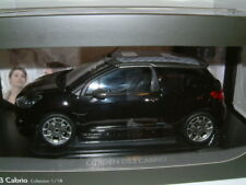 1/18 Citroen ds3 cabriolet, Black, OPEN & CLOSED ROOF options, NOREV