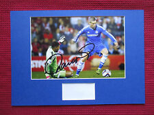 CHELSEA LEGEND FERNANDO TORRES GENUINE SIGNED A3 MOUNTED PHOTO DISPLAY-AFTAL COA