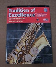 Alto Saxophone Tradition Of Excellence Book 1 Cd Included *Brand New*