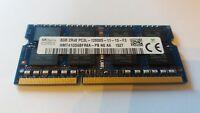 HYNIX 8GB DDR3L 2RX8 PC3 12800S 11-13-F3 MEMORY RAM LAPTOP PC
