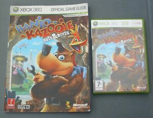 XBOX 360 BANJO & KAZOOIE : NUTS & BOLTS GAME + PRIMA OFFICIAL GUIDE