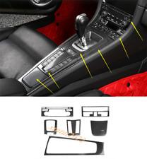 Carbon Fiber Center Console Panel Cover Trim For Porsche 718 Cayman 2016-2019