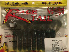 "Strike King Rage Tail Baby Craw Candy RGBC-130 3"" 9ct Coffe Scent Bait"
