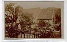 PRESTON CHURCH: Sussex postcard (C30523)