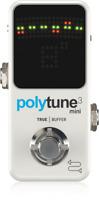 New TC Electronic Polytune 3 Mini Guitar Tuner Pedal w/ Bonafide Buffer!