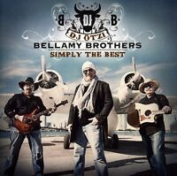 DJ Oetzi & Bellamy B, The Bellamy Brothers - Simply the Best [New CD] Portugal -