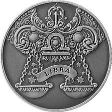Belarus 2013, LIBRA Zodiac Horoscope, 1 ruble, Copper–nickel
