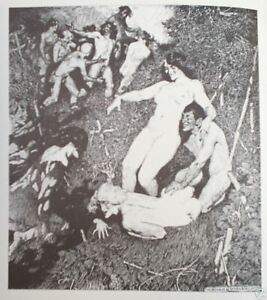 1974 PEN DRAWINGS, NORMAN LINDSAY w 56 PLATES, free EXPRESS shipping AU WIDE