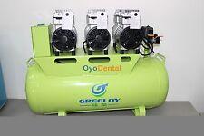 Dental Silent Oil Free Air Compressor For 6PC Dental Chair GA(83) 2400W-90L CE