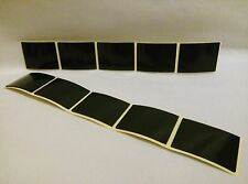 16 Double Sided BLACK Number Plate Tape Strong Adhesive Foam Pads Roll 40X30X1mm