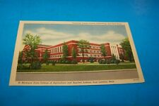 Michigan State College  Gym & Field House East Lansing, Michigan  Vintage 1952