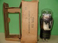 Sylvania 71A Vacuum Tube Results = 1920 Code 4V