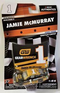 2018 Wave 3 NASCAR Authenics #1 Jamie McMurray 1:64 Scale Camaro Gearwrecnch