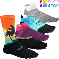 INJINJI TOE SOCKS FIVE FINGER RUN SPORT TRAIL OUTDOOR TOESOCKS COOLMAX XTRALIFE