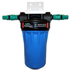 FishLogic Pond Dechlorinator - Remove Chlorine tap water, koi, sturgeon 30,000l