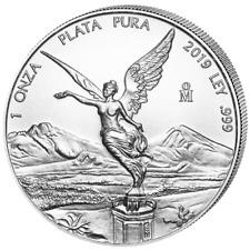 Silber Libertad 2019 1 OZ Onza Unze Ounce Silver Argent Mexiko Mexico Mexique