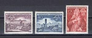 Liechtenstein 1949 Schellenberg - Mi. 281 - 283 */**