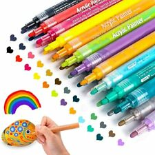 Acrylic Paint Pens for Rocks Painting, Ceramic, Glass, Wood, Fabric, Canvas, of