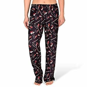 Forever Collectibles NFL Women's Houston Texans Repeat Print Logo Comfy Pants
