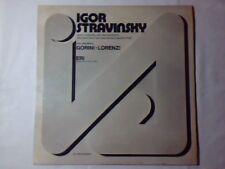 DUO GORINI - LORENZI Igor Stravinsky lp NUOVO RARISSIMO