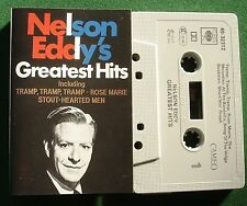 Nelson Eddy Greatest Hits Absolutely Excellent Condition Cassette Tape - TESTED