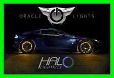AMBER LED Wheel Lights Rim Lights Rings by ORACLE (Set of 4) for GMC MODELS 2