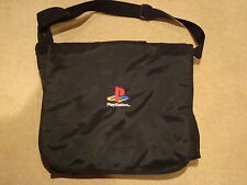 Official Sony Playstation Black Canvas Carry/Shoulder/Travel Bag