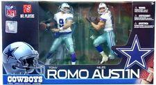 Tony Romo and Miles Austin McFarlane 2 Pack Dallas Cowboys Fast Shipment