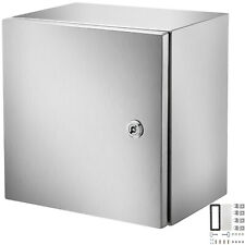 Vevor 12x12x8 Stainless Steel Electrical Box Nema 4x Electrical Enclosure Ip65