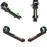 Red/Green Fiber Reflex Dot Sight Scope Sight fit Shotgun Rib Rail for Hunting
