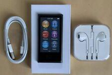 Apple Ipod Nano 7. Generation 0.2oz Space Gray Grey Spacegrey 16GB New