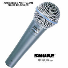Shure Beta 58A Dynamic Vocal Microphone Australian authorised Shure reseller