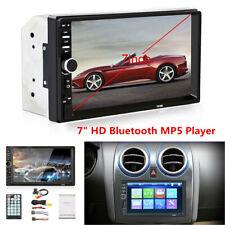 "7"" Car Radio 2DIN Blueteeth Stereo MP5 Player Touchscreen FM Backup Camera Kit"