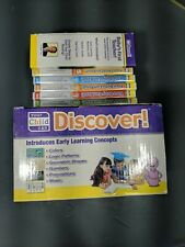 Your Baby Can Read Deluxe SET My Child Can Read 5 DVD Set Sliding Word Cards