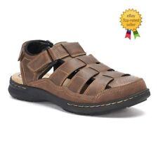 0f427ec98e2b Croft Barrow Soprano Mens Ortholite Fisherman Sandals size 10 11 NEW