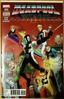 DEADPOOL #2 Back in Black (2016 MARVEL Comics) NM - Comic Book