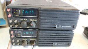 GE ericsson monogram mobile radio coverted to VHF Repeater 40 watt power
