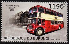1954 BRISTOL LD (Lodekka) Double Decker British London Bus Stamp (2012)