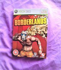 Borderlands Xbox 360 con funda de cartón + Estuche Con Manual: PAL – Reino Unido-Xbox