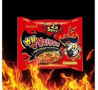 Super Hot 2X Spicy Chicken Noodles Samyang BULDAKBOKEUM Ramyun Korean Ramen CY