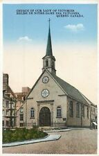 Quebec QC~Roman Catholic Church of our Lady of Victories~1920s