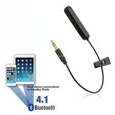 Car Bluetooth Adapter Wireless Converter for Tablets & MP3 Aux Lead Wire Cable