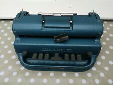 Fully Working?tested, lubricated perkins Brailler Braille Typewriter.